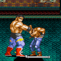 Streets of Rage 2 Max Neck Snap
