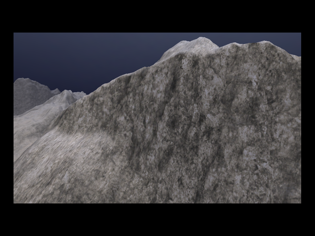 Fixed cliff texturing